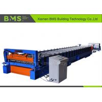 China 0.3 - 0.6 mm 7.5KW Roofing Panel Roll Forming Machine For YX28 - 252 - 1010 on sale