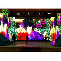 High Definition P3 Full Color Stage Led Screens Led Video Wall For Indoor