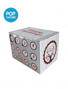 China New good taste Beer Corrugated Cardboard Display Box on sale