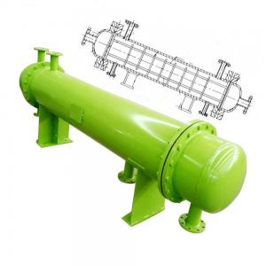 China Kettle Reboiler Double Wall Steam To Water Tube Heat Exchanger Condenser Equipment on sale