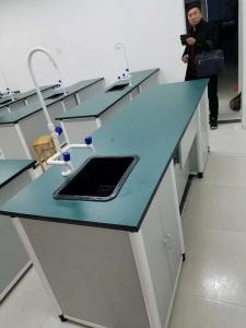 China Laboratory Furniture School Lab Workbench Alum-alloy Wood Chemistry Laboratory Table on sale
