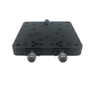 China Low Pim Black 2 Way Power Divider In Microwave Rohs Compliant 190*113*54mm on sale