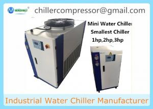 China 3HP-40HP PET bottle/film/bags plastic processing Water Cooling System Industrial Chiller Unit on sale