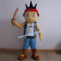 China adult pirate mascot costume on sale