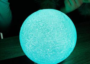 Quality LED lighting decorative USB Rechargeable 3D Printing Earth ball with Touch for sale