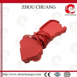 China OEM Nylon Material Multipurpose Stainless Steel Cable Lockout 2.4mm Length Cable on sale