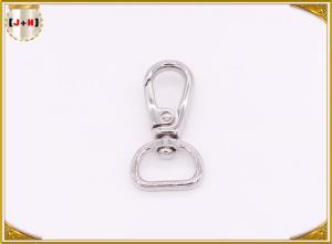 China Customized Size Nickel Metal Swivel Snap Hooks For Purses / Lanyards on sale