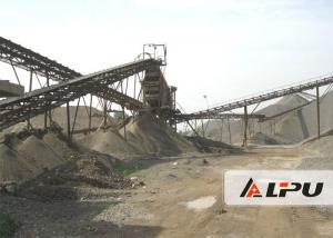 China Customized Design Stone Crushing & Screening Plant , Gravel Crusher Machine on sale