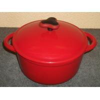 China O cookware esmaltado do ferro fundido/esmaltou a caçarola do ferro fundido/frigideira esmaltado do ferro fundido on sale