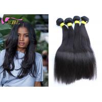 Coarse Unprocessed Cambodian Virgin Hair Straight Weaves Hair Extension Human