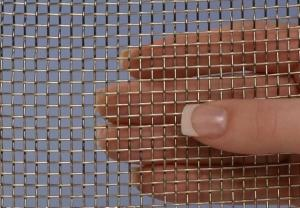 China Durable 904L Ss Woven Wire Mesh , Heavy Gauge Wire Mesh Panels Acid Resistant on sale