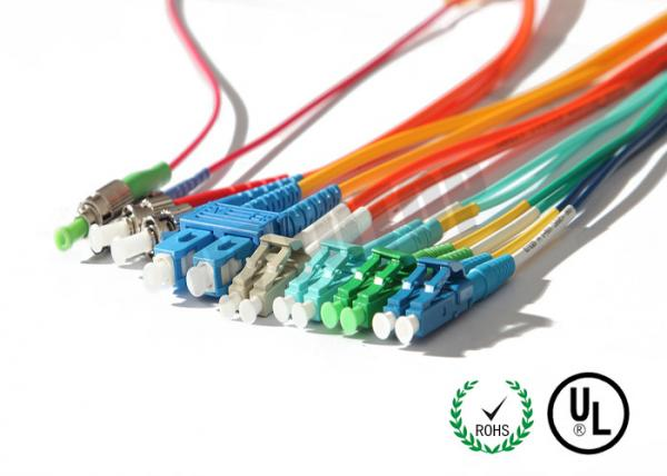 LC / SC / FC Connector Fiber Optic Patch Cord Corning G657A1