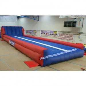 China inflatable air tumble track on sale