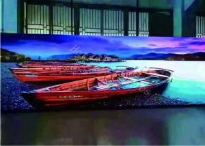 China High Resolution Indoor LED Screen Small Pitch 1.9-15 M Viewing Distance on sale