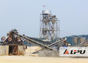China Jaw Crusher Stone / Granite Crushing Plant For Artificial Sand Making 30 - 800 TPH on sale