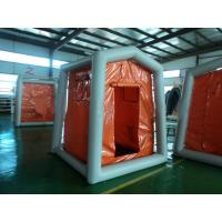 PVC 4 Square Inflatable Rescue Tent Camping Tent