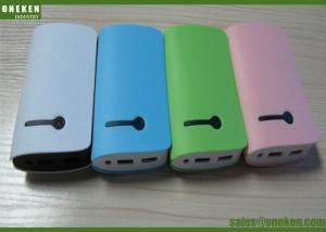China Fashion Blue / Pink / Green Book 18650 Power Bank 5400mAh / 7800mAh MSDS / UN38 . 3 supplier
