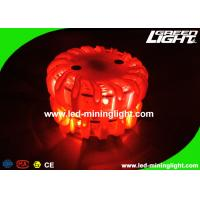 Magnetic LED Beacon Warning Light Safety Amber Flashing Roadside Flares for Traffic Guardian