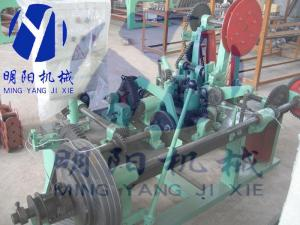 China double twisted barbed wire emsh machine on sale