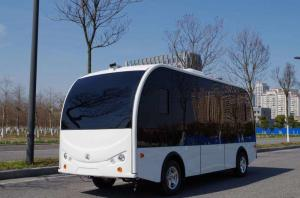 China Self Driving Bus / Solar Powered Electric Vehicle AGV 8 Seater With EPS Braking System on sale