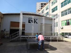 China used portable aluminum stage for sale mobile stage for sale portable mobile staging outdoor event stage on sale