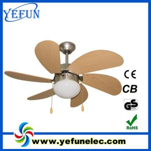 China Decorative Ceiling Fan YF30-6CL on sale