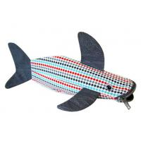 Cute Cloth Shark Pencil Pouch / Case With Zipper