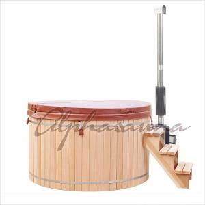 China 5 Person 1500*900MM Spa Hot Tub 100% Clear Grade A western red cedar on sale