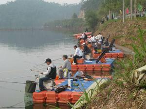 Quality 水働きプラットホームのHDPEのポンツーン for sale
