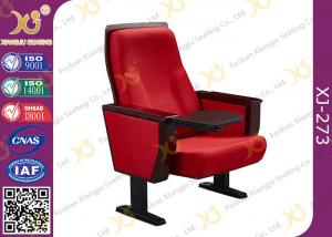 China Chinese Carst Iron Meeting Room Seating / Lecture Hall Chairs With Speaker on sale