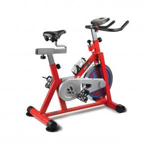China Anti Skid Peda Stationary Workout Bike , Strong Frame Seated Bike Machine on sale