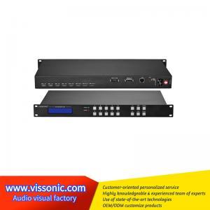 China Black Seamless Hdmi Switcher / UHD4Kx2K HDMI 4x4 Seamless Video Switcher on sale