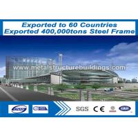 Hot Galvanized Steel Buildings And Structures , Steel Frame Storage Buildings
