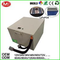 China Rechargeable Lithium Polymer 72v LiFePO4 Battery Pack 60Ah Capacity on sale