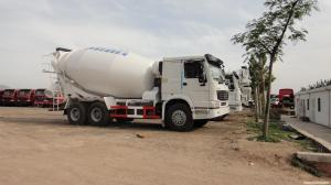 China 10cbm Customized Cement Mixer Truck , Advance Cement Truck With 6x4 320hp Chassis on sale