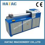Cortadora de papel monopala de la base, corazones de papel y fabricante de la maquinaria de los tubos