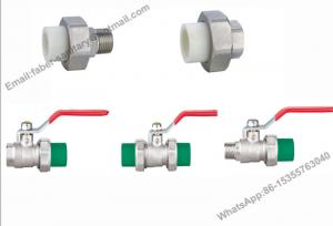 China Cheap Price Nickel Plating Brass Water PPR Ball Valve on sale