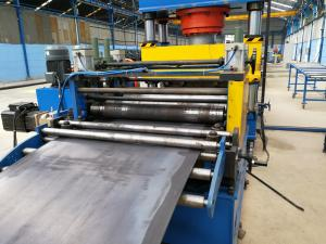 China High Strength Corrugated Steel Panel Roll Forming Machine For Highway Railway Culvert on sale