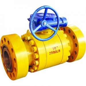 China ANSI Class 600 Floating Ball Valve , WNRF Flange Ball Valve on sale