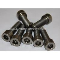 ASTM DIN Titanium / Titanium Alloy Bolts / Screws / Fasteners With Color Painting