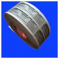 Printed Roll Self Adhesive Paper Label Sticker Wholesale, Custom Offset Printed Self Adhesive Peel Off Label Sticker