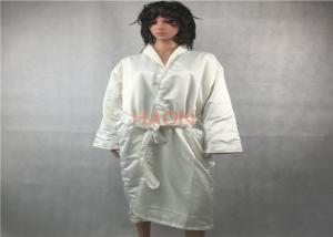 China Shawl Collar Velvet Mens Terry Cloth Bathrobes Two Layer Robes For 5 Star Hotel on sale
