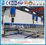 Machine à cintrer de grand double de tringlerie de MCL WC67Y 4000T plat de commande numérique par ordinateur, laminoir
