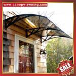 protetor exterior excelente da tampa do abrigo dos dosséis do dossel do toldo do policarbonato DIY do PC da chuva do sol da janela da porta da casa de campo da casa