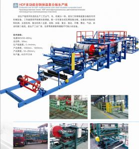 China Best price EPS sandwich panel roll forming machine with CE and ISO9001 certification on sale