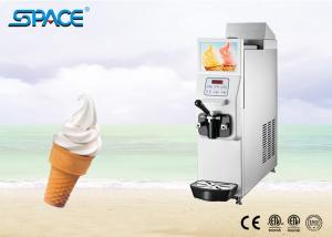 China Single Flavor Soft Serve Freezer With Food Grade Stainless Steel Beater on sale