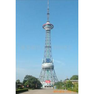 China TV steel  towers on sale