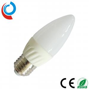 China 240~270lm 12V LED E27 Candle Ceramic Light Bulb 3W with 6 Pieces of SMD 5630 LEDs on sale