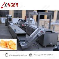 Fully Automatic Potato Chips Production Line|Commercial Potato Chips Making Line|Potato Chips Processing Line