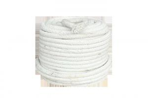 China Fireplace Rope Insulation / Ceramic Fiber Twisted Rope Flexible Expansion Joint on sale